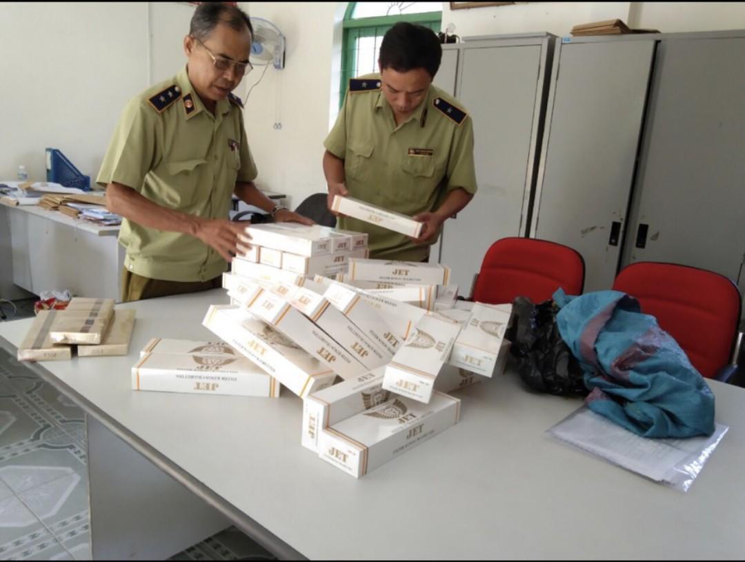 Đội QLTT số 4 - Cục QLTT Phú Yên  đã thu giữ 520 bao thuốc lá điếu nhâp lậu các loại.